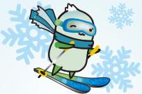 スキーするやっぷー